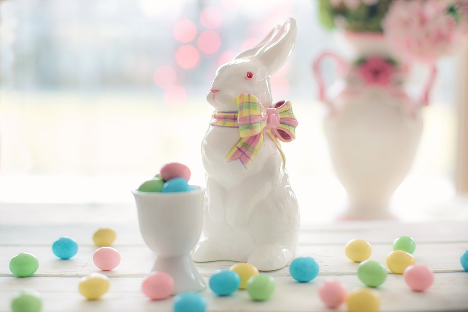 Easter Porcelain Bunny Rabbit