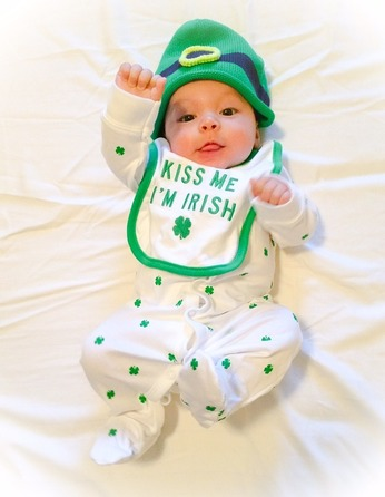 Saint Patrick's Day History, Traditions, and Gift Ideas: Irish baby