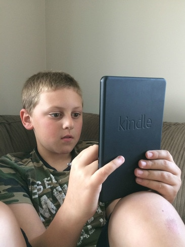 Gift Idea List for a 15 or 16 Year Old Boy: Kindle tablet