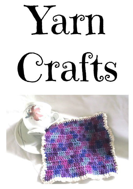 Knit Crafts Heart Washcloth Pattern