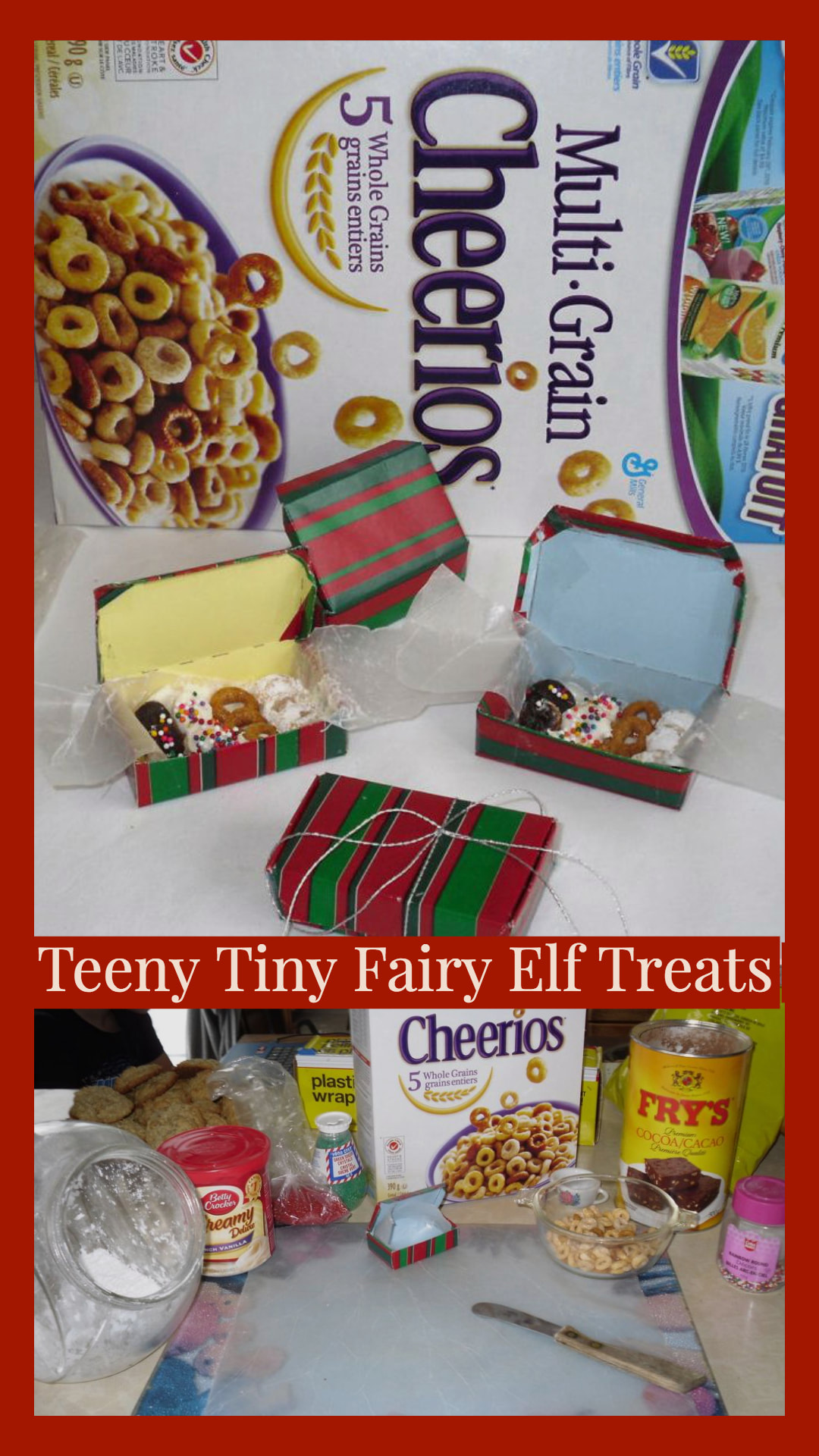 Fairy Elf Party Dessert Treats: Bake up something magical today