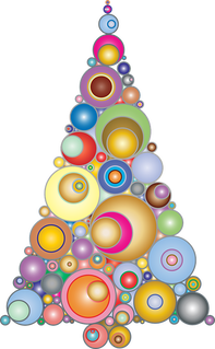 Rainbow Christmas Tree Theme Ideas