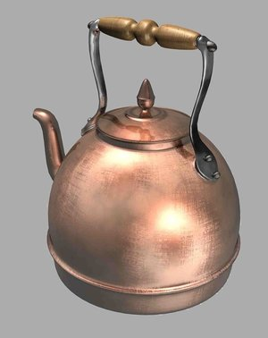7th Wedding Anniversary Gift List Traditional, Modern, Gem Stone, Flower: copper kettle