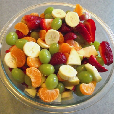 Holiday Side Dish Recipe a Healthy Fruit Salad