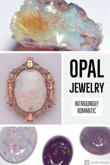 Opal Jewelry Meaning & Symbolism: A highly romantic gem ideal for lovers and those preparing to wed