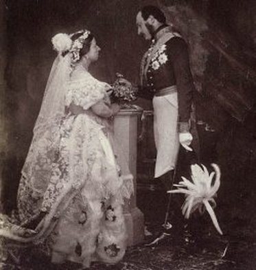 Meaning of a Bride's Red Wedding Dress: Queen Victoria